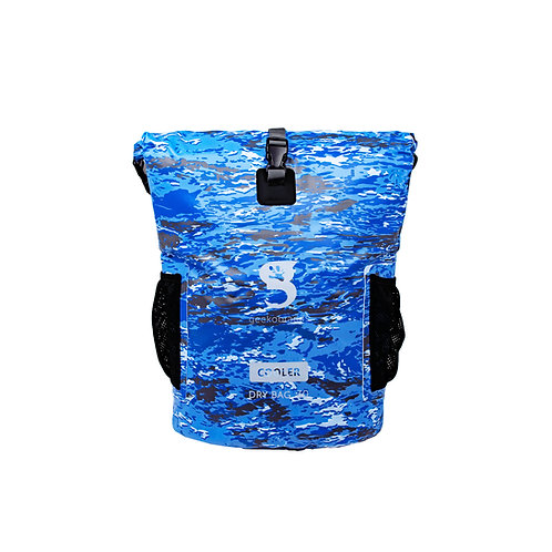 Backpack Dry Bag Cooler - Ocean geckoflage