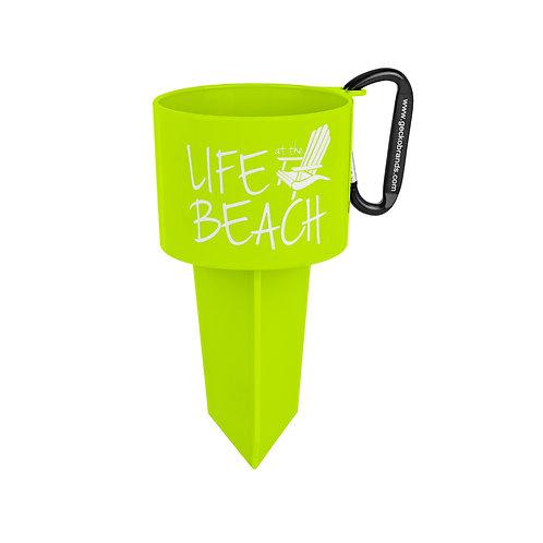 Beverage Holder Stake - LAB - Green