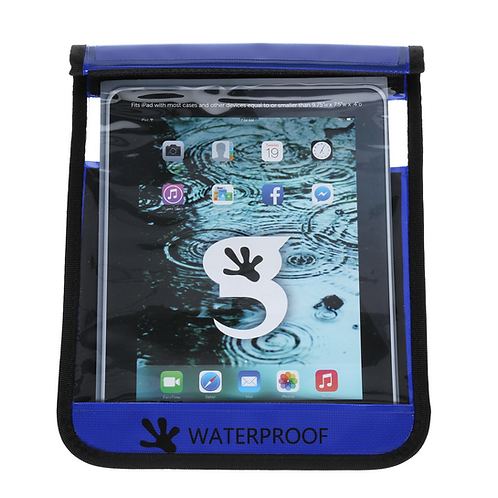 Waterproof iPad/Large Tablet Dry Bag - Royal