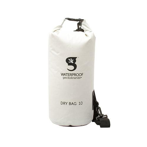 Tarpaulin Dry Bag 10L - White