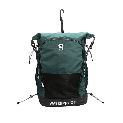 Dueler 32L Waterproof Backpack - Dark Green/Grey
