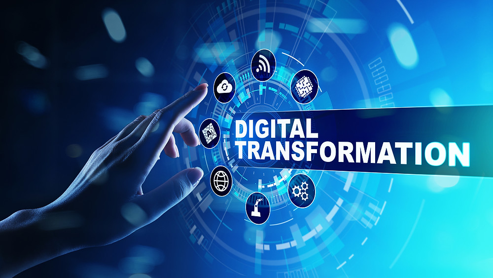 background blue business businessman button change concept conceptual data digital digitization evolution finger hand idea illustration industry information innovation internet marketing modern press processes solutions strategy success technology transform transformation upgrade work, Digital Transformation, Platform, Peer2Peer, P2P, Disruption, Digital Business Transformation