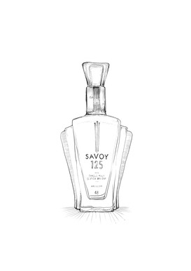 Macallan Savoy Hotel, 125 year old Edition
