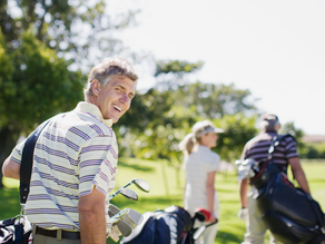 Geting your body ready for a corporate golf day