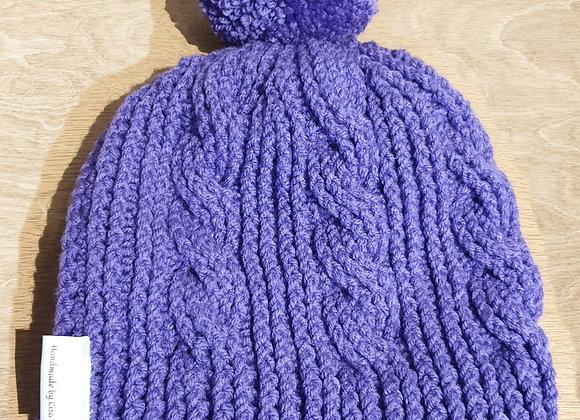 Ladies Cable Twist Hat