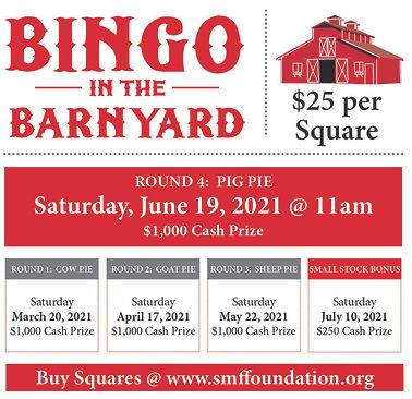 Barnyard Bingo Flyer - Round 4 for Event
