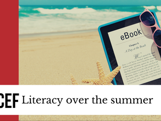 Literacy over the summer
