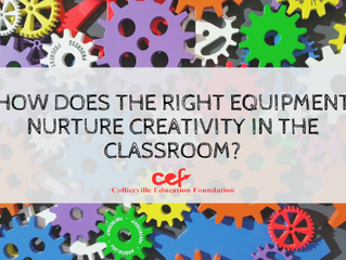 What type of creativity can be nurtured in the classroom with the right equipment?