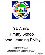 Home Learning Policy front.JPG
