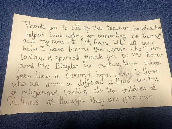 Letter eceived from a Y6 pupil 2018.jpg
