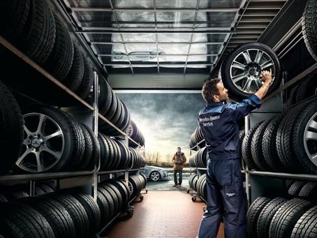 Мифы и правда. Хранение шин и колес в СПб.