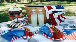How To: 4th of July Picnic with Sprinkles + Confetti!