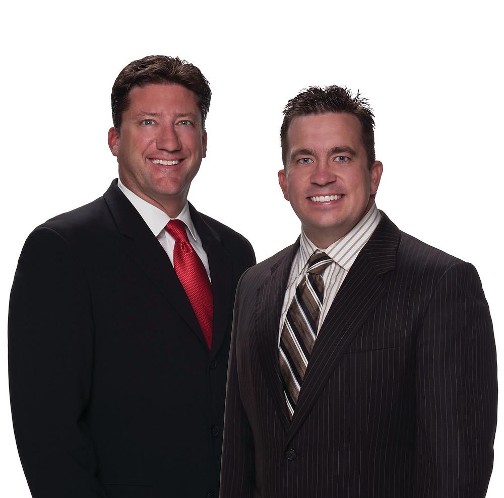 Mike Van Blaricom and Kevin Annis