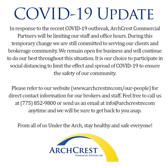 ArchCrest COVID-19 Response