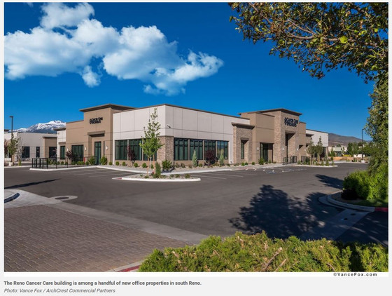 Northern Nevada's office development submarket continues to lag