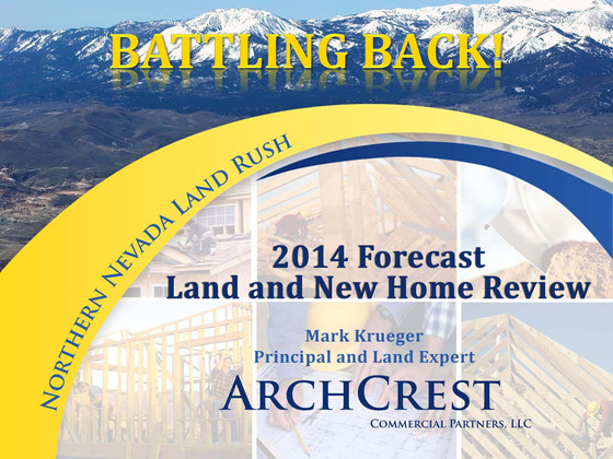 Mark Krueger's 2014 Forecast and Beyond Presentation