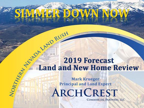 Mark Krueger's 2019 Land Forecast