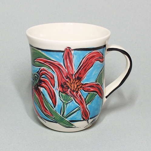 RED SPIDER FLOWER #8