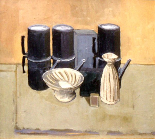 Still life coffee pots