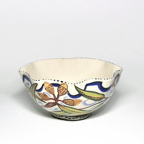 SMALL FLUTED MIXING BOWL  #10