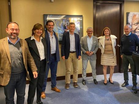 Dirigentes de PRO Salta se reunieron con Mauricio Macri y Patricia Bullrich