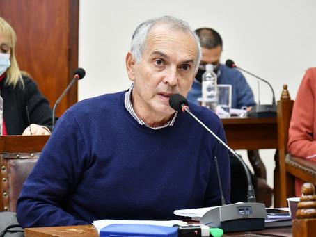 Gauffin presentó un proyecto sobre la incompatibilidad de los jueces de faltas municipales