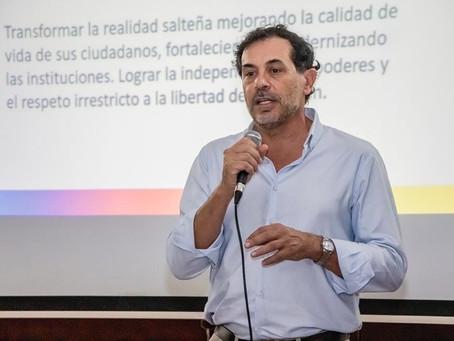 """""""El PRO está creciendo muy fuerte en Salta, incorporando dirigentes en todos los departamentos"""""""