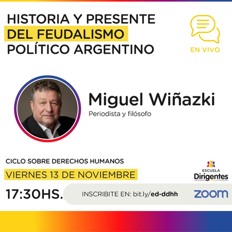 Flyer - Wiñazki - Escuela de Dirigentes.
