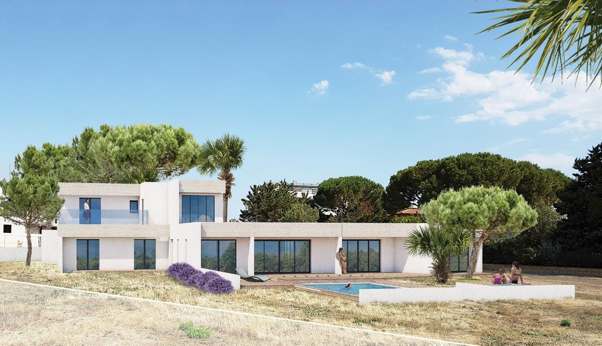 Mèze - villa contemporaine