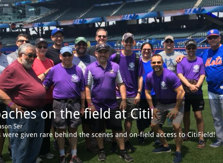 COACHES CLINIC AT CITI FIELD