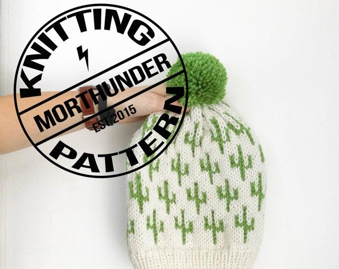 Cactus Knitting Beanie