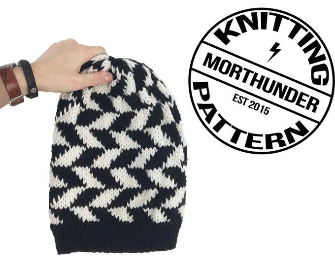 Herringbone Knitting Beanie
