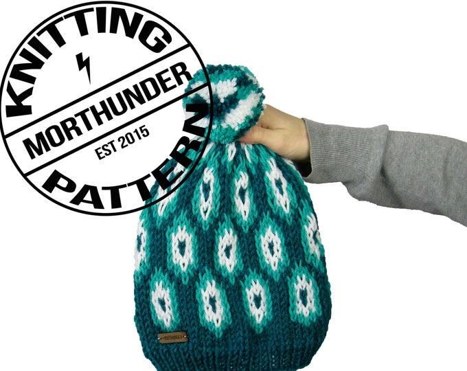 Tortuga Intermediate Knitting Beanie