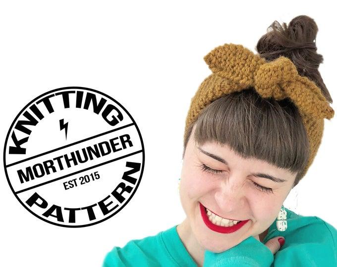 Steffy Knitting Headband