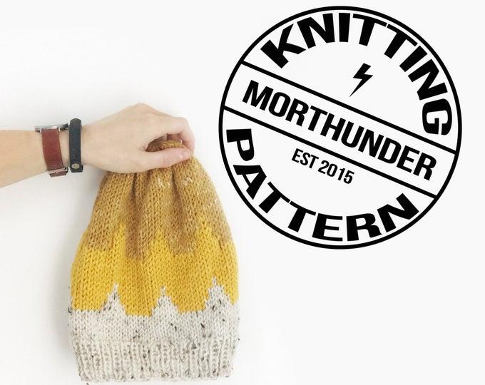 Scallops Knitting Beanie