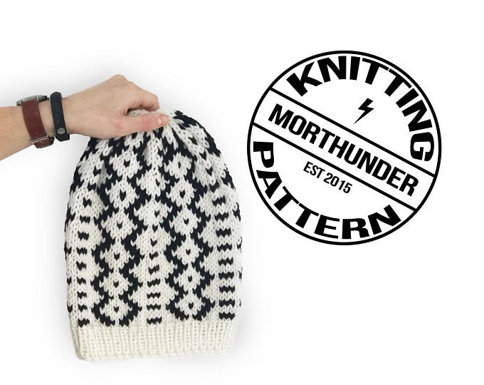 Thro Knitting Beanie