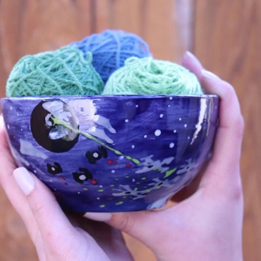 Hannah's Yarn Bowl