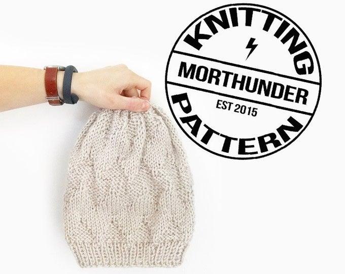 Adorable Textured Chevron Knitting B
