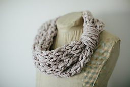 Finger Knit Cowl