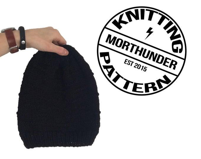 Simple Knitting Dart Beanie