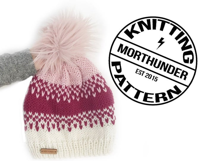 Ombre Knitted Beanie