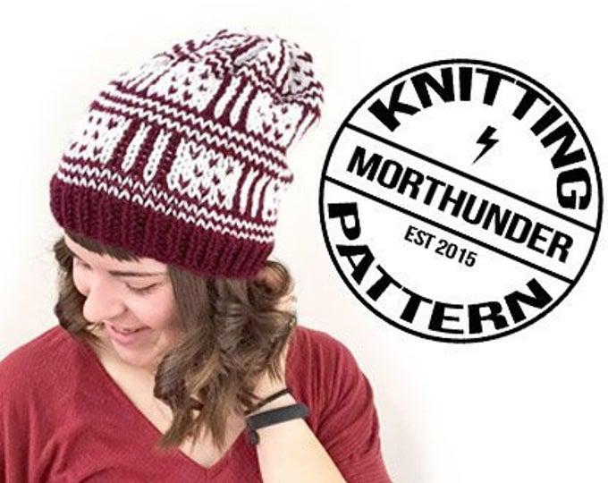 Lorelai Knitting Beanie