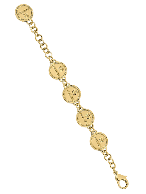 Aigner Runway bracelet, gold