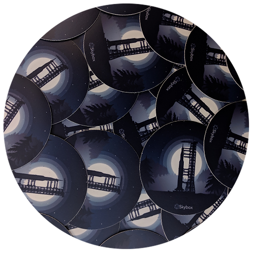 SaturnV AR Sticker