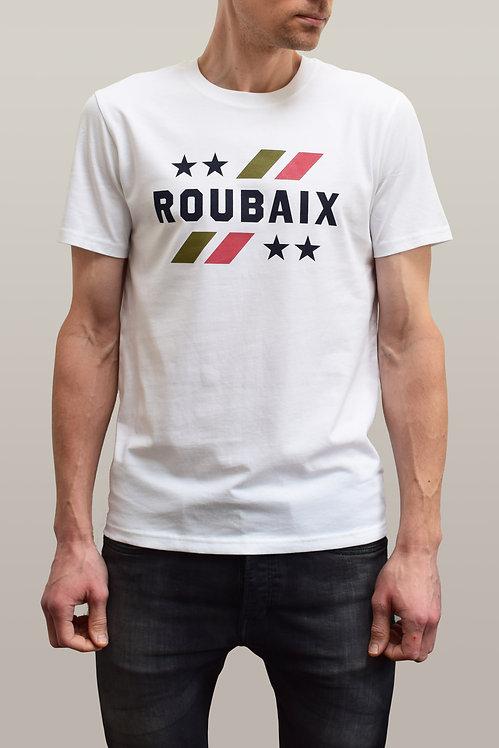 Roubaix Vintage Organic T-Shirt - White