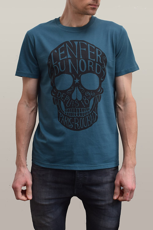 L'Enfer du Nord Organic T-Shirt - Teal