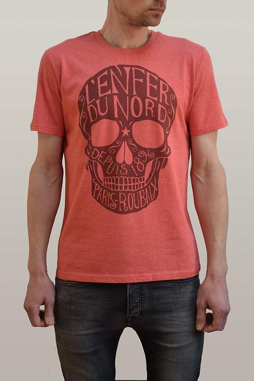L'Enfer du Nord Organic T-Shirt - Red