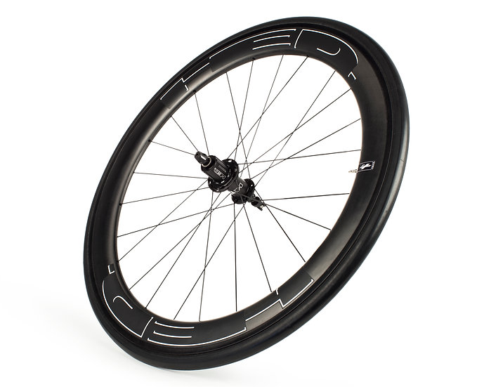 Jet RC6 Black Rear Wheel (2021)