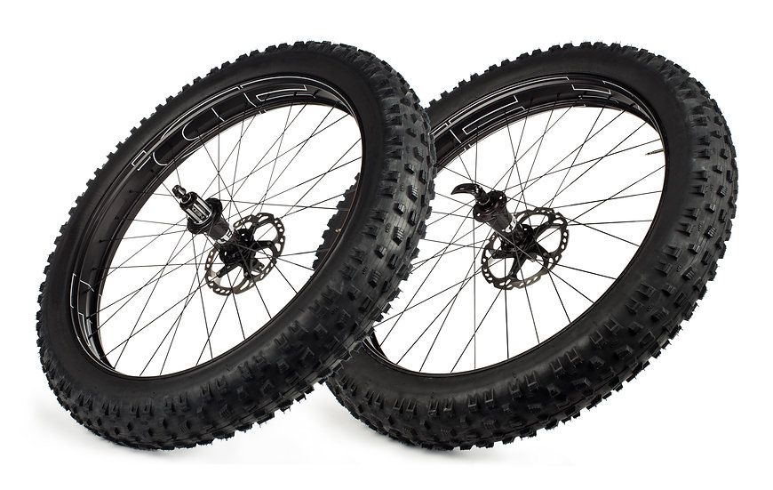 Big Half Aluminium Deal (B.H.A.D.) Fat Bike Wheelset (2020)