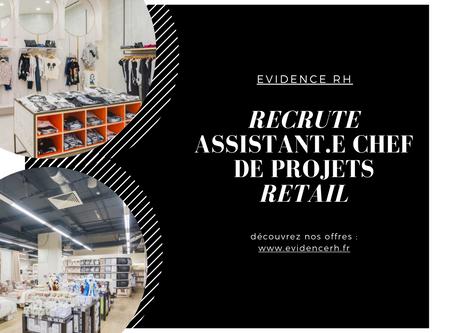 Assistant.e Chef De Projets Retail H/F